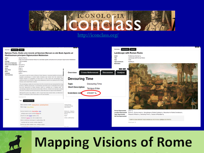 Using Iconclass to connect text and image in MVR