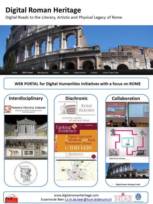 DRH Poster for Linked Pasts conference, London 2015