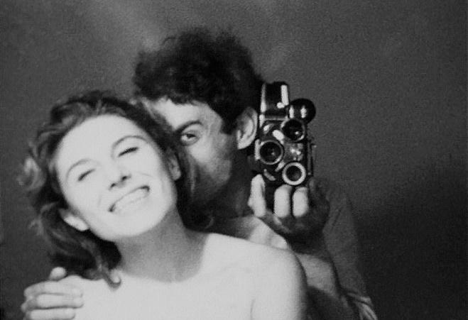 """""""In viaggio con Patrizia"""" di Alberto Grifi, una tra le opere video conservate presso Careof. https://www.careof.org/about/archivio-storico"""