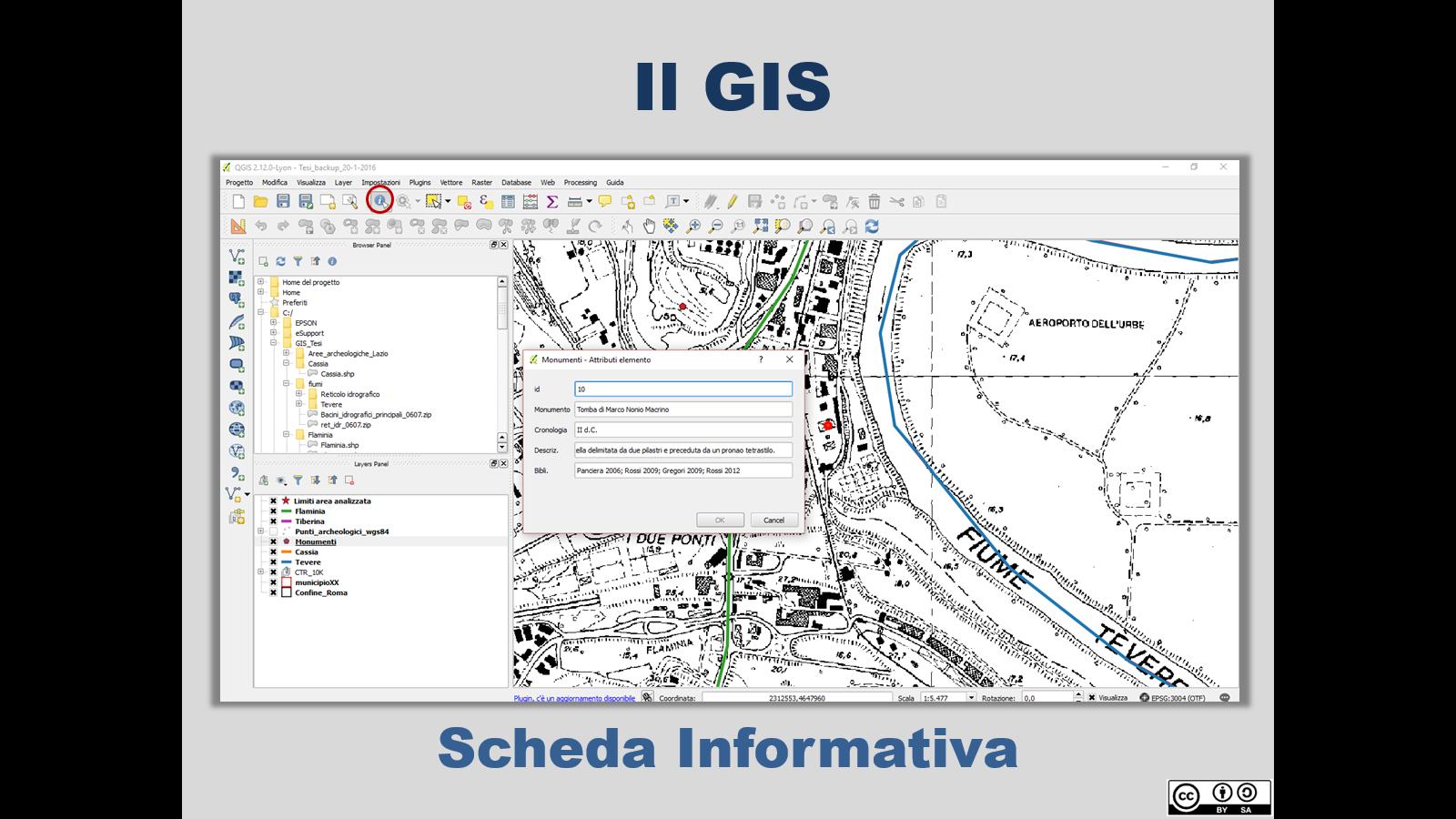 Interfaccia GIS